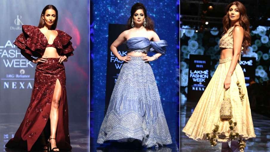 Kangana Ranaut at Lakme Fashion Week 2019- India TV Hindi