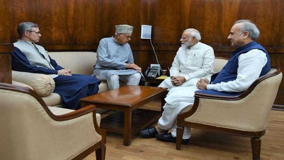 PM Modi, Farooq Abdullah, Omar Abdullah- India TV Hindi