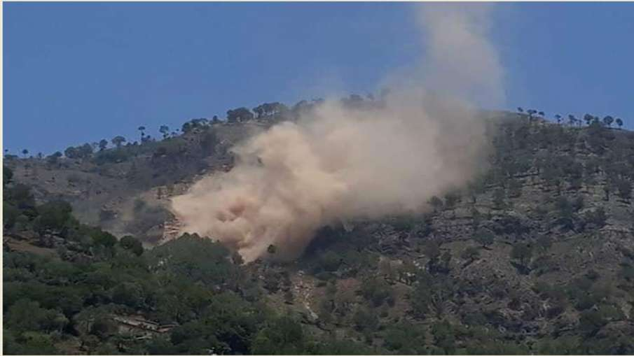 Pakistani post opposite the RAJOURI sector (J&K) has been hit in action by Indian Army- India TV Hindi