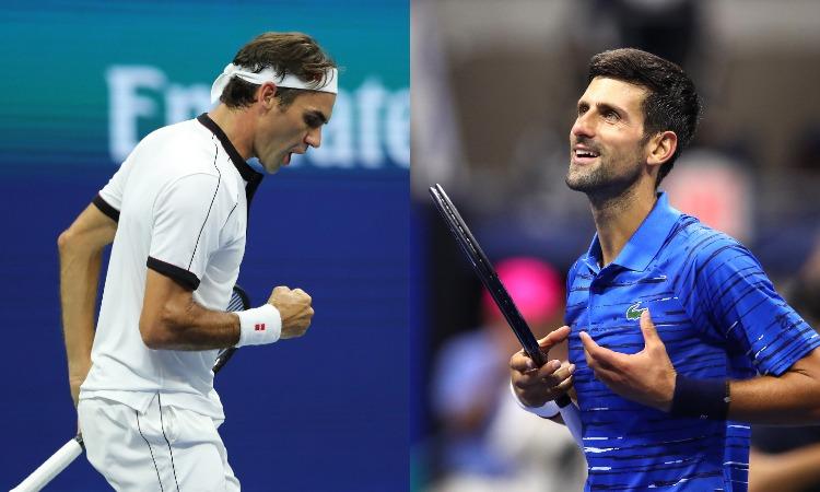 Roger Federer, Novak Jakovich- India TV Hindi