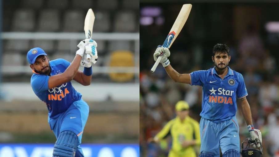 दक्षिण अफ्रीका-ए के खिलाफ भारत-ए की कप्तानी करेंगे श्रेयस अय्यर और मनीष पांडे- India TV Hindi