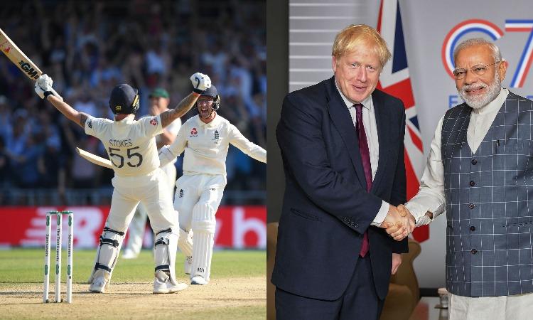 PM Modi and Britain pm Johnson- India TV Hindi