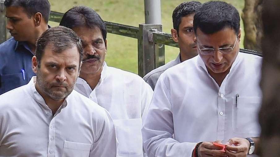 स्वीकार नहीं हुआ राहुल गांधी का इस्तीफा, रात आठ बजे फिर होगी CWC की बैठक: रणदीप सुरजेवाला- India TV Hindi
