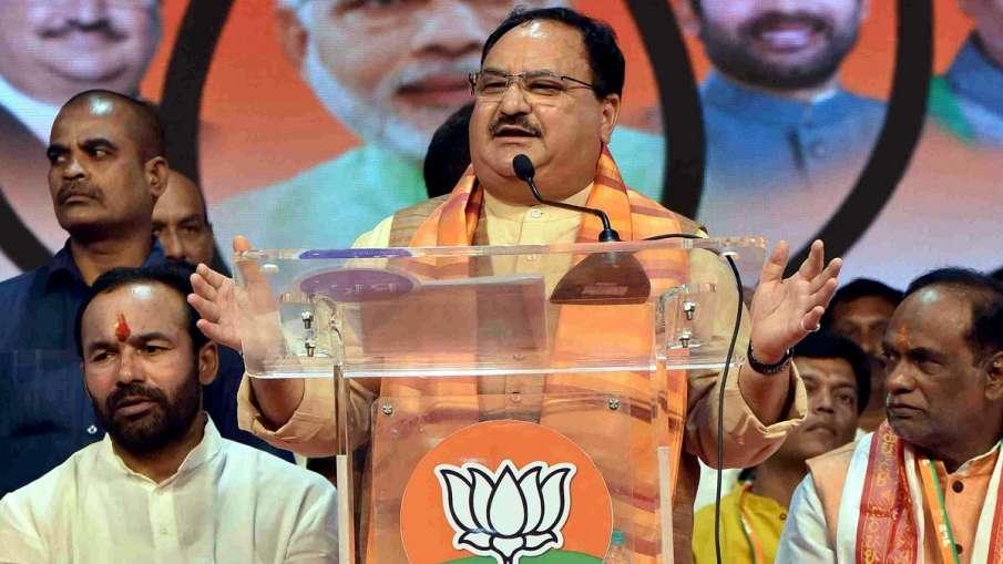 BJP Working President JP Nadda addressing at a public...- India TV Hindi