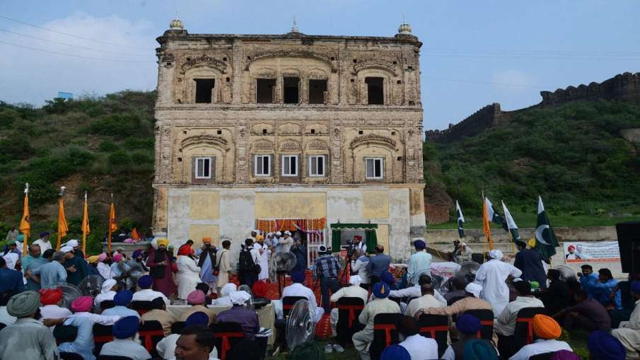 72 years after partition, Pak opens historic gurdwara in...- India TV Hindi