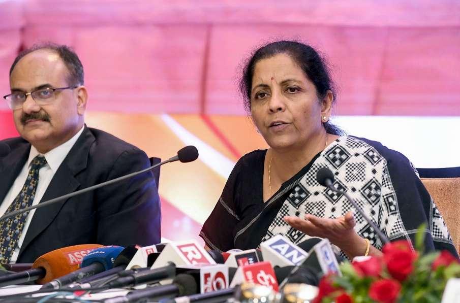 Union Finance Minister Nirmala Sitharaman - India TV Hindi