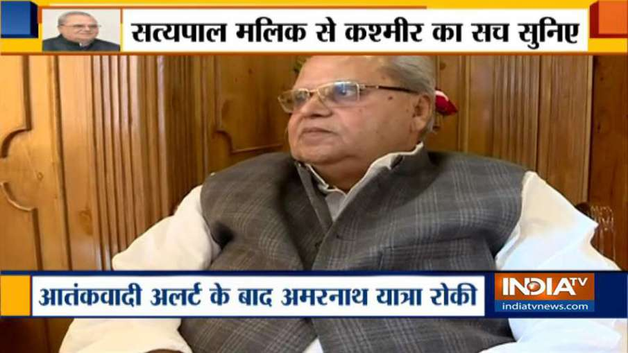 Jammu Kashmir Governor Satyapal Malik- India TV Hindi
