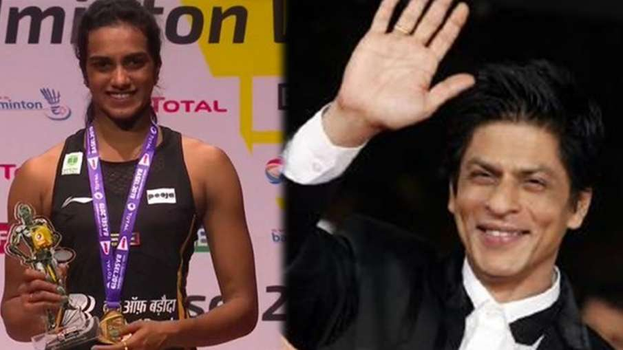 P.V Sindhu- Shah rukh khan- India TV Hindi