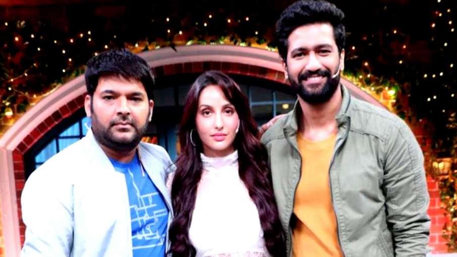 कपिल शर्मा, नोरा फतेही और विक्की कौशल- India TV Hindi