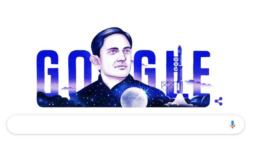 Vikram Sarabhai, the father of ISRO, honoured by Google Doodle on his 100th birthday   Google- India TV Hindi