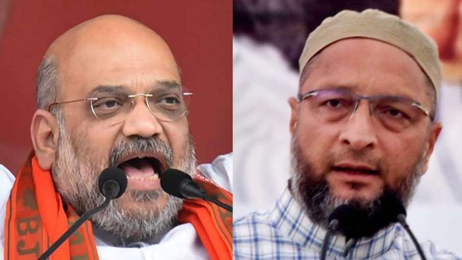 Amit Shah and Asaduddin Owaisi | PTI File Photo- India TV Hindi
