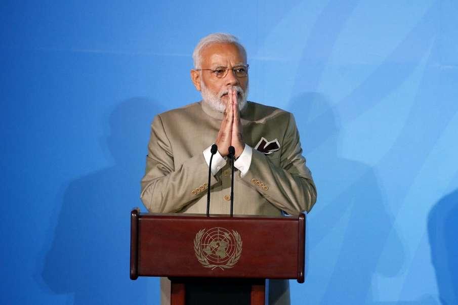 Prime Minister Narendra Modi addresses the Climate...- India TV Hindi