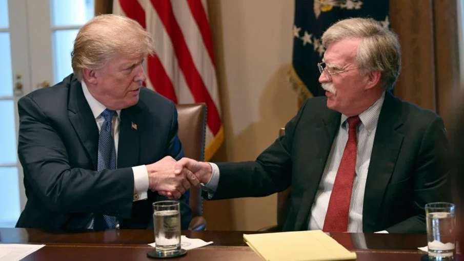 Trump says Bolton a 'disaster' on North Korea, 'out of line' on Venezuela | AP File- India TV Hindi