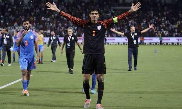 Gurpreet Singh, Captain Indian Football Team- India TV Hindi