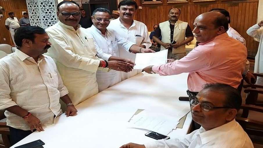 राज्यसभा के लिए निर्विरोध चुने गए BJP के संजय सेठ और सुरेंद्र नागर- India TV Hindi