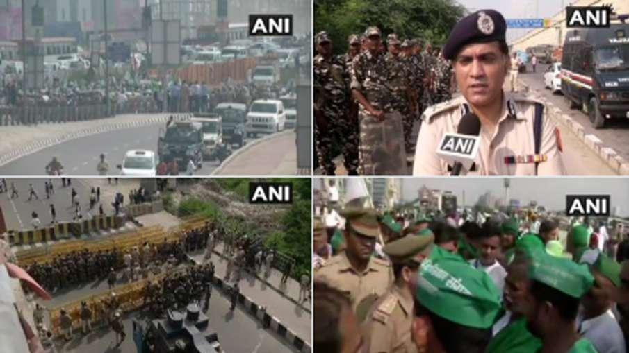 किसानों का आज दिल्ली मार्च, आंदोलन के मद्देनज़र सुरक्षा के कड़े इंतज़ाम- India TV Hindi