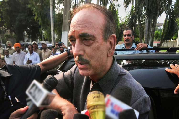 Senior Congress leader Ghulam Nabi Azad- India TV Hindi