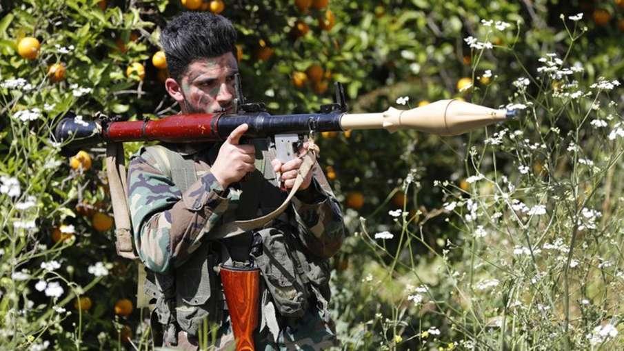 Hezbollah fires rockets into Israel from Lebanon, both exchange fire at border   AP- India TV Hindi