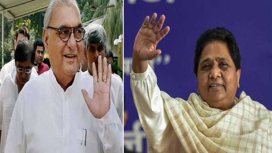 BSP will contest alone on all 90 seats in the upcoming...- India TV Hindi