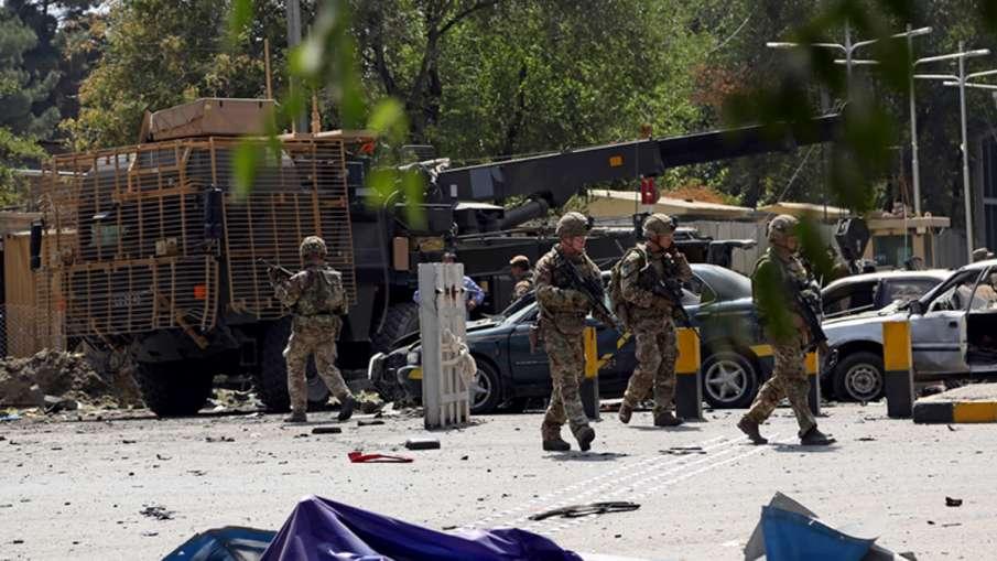 Taliban claim deadly attack near US embassy in Kabul   AP- India TV Hindi