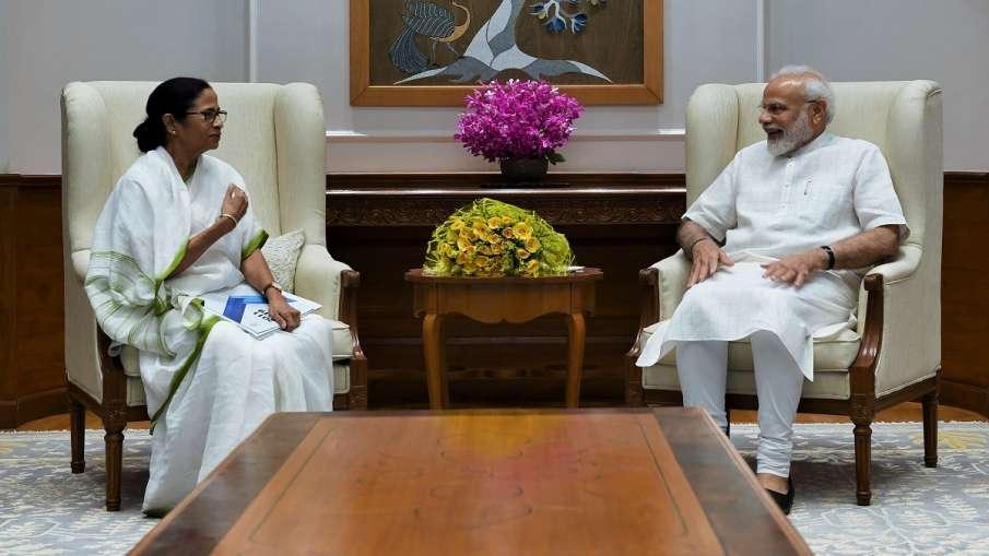 West Bengal CM Mamata banerjee meets PM Narendra Modi- India TV Hindi