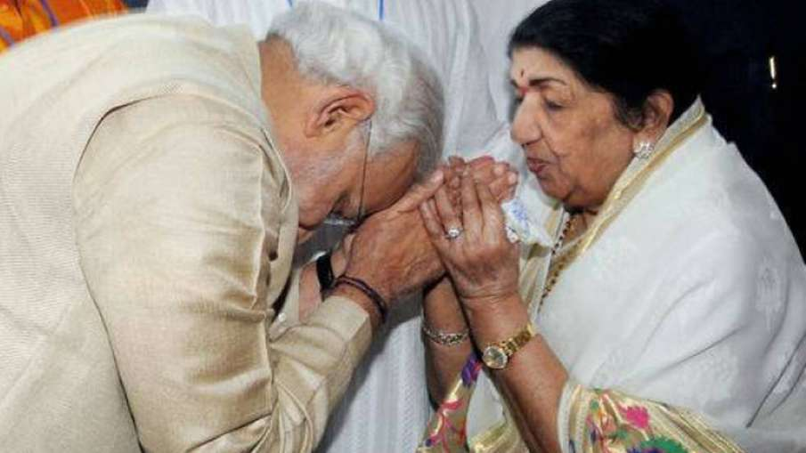 Your arrival had changed India''s image, says Lata to Modi   PTI File- India TV Hindi