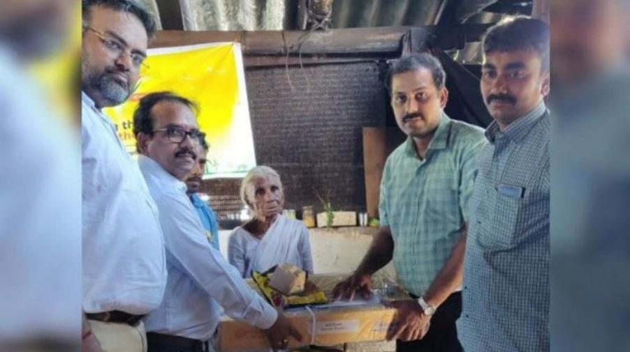 Idli Amma gets gas connection - India TV Hindi