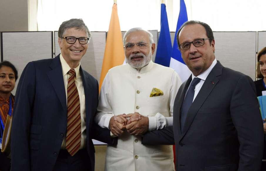 PM Modi with Bill Gates- India TV Hindi
