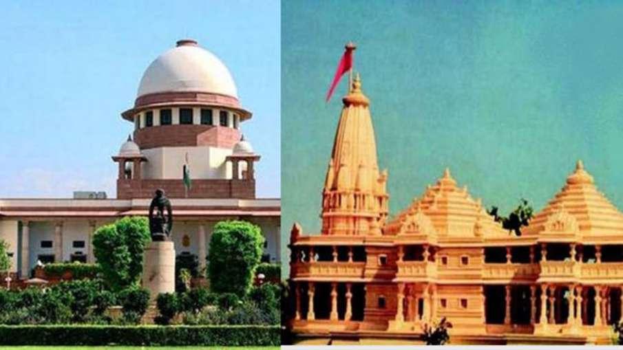 Ram Mandir hearing likely to complete by October 18th says CJI Ranjan Gogoi- India TV Hindi
