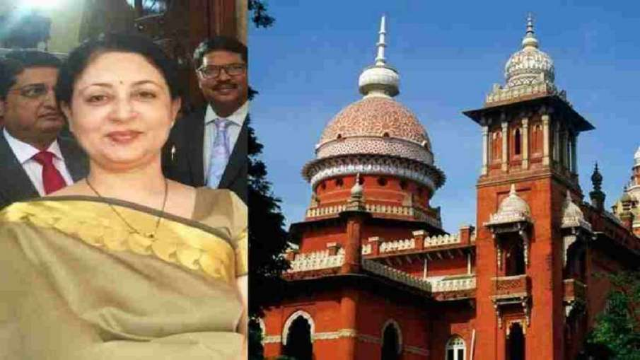Resignation of Madras HC Chief Justice V K Tahilramani accepted by government.- India TV Hindi