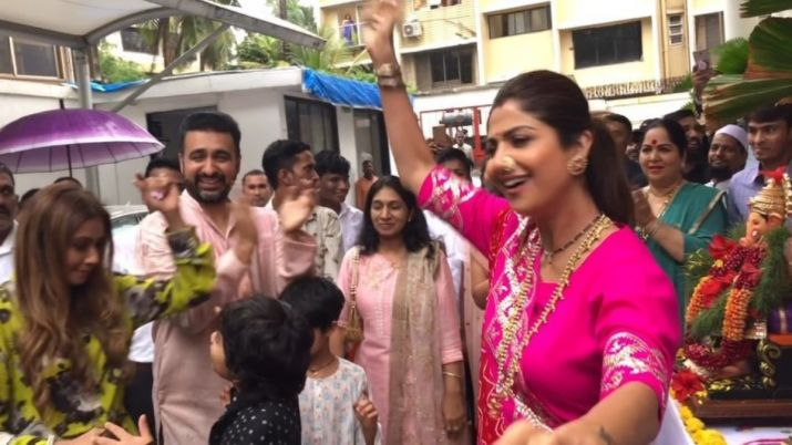 shilpa shetty dance video- India TV Hindi