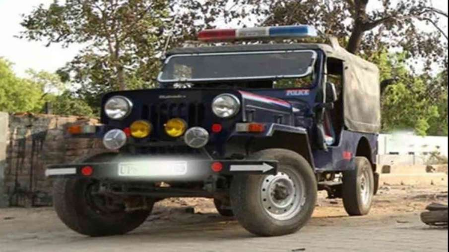 police jeep- India TV Hindi