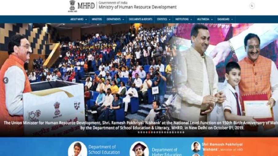 HRD Minister Ramesh Pokhriyal Nishank inaugurate 21...- India TV Hindi