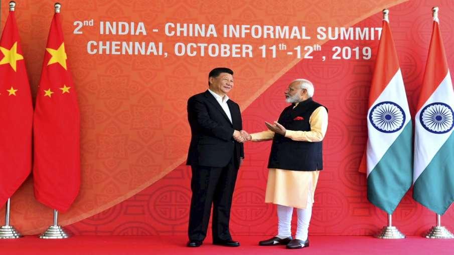 Prime Minister Narendra Modi with Chinese President Xi...- India TV Hindi