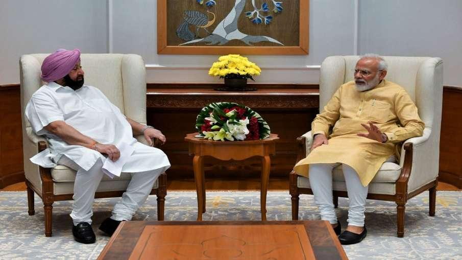 Captain Amrinder Singh invites PM Modi and Former PM Manmohan Singh for Opening of Kartarpur Corrido- India TV Hindi