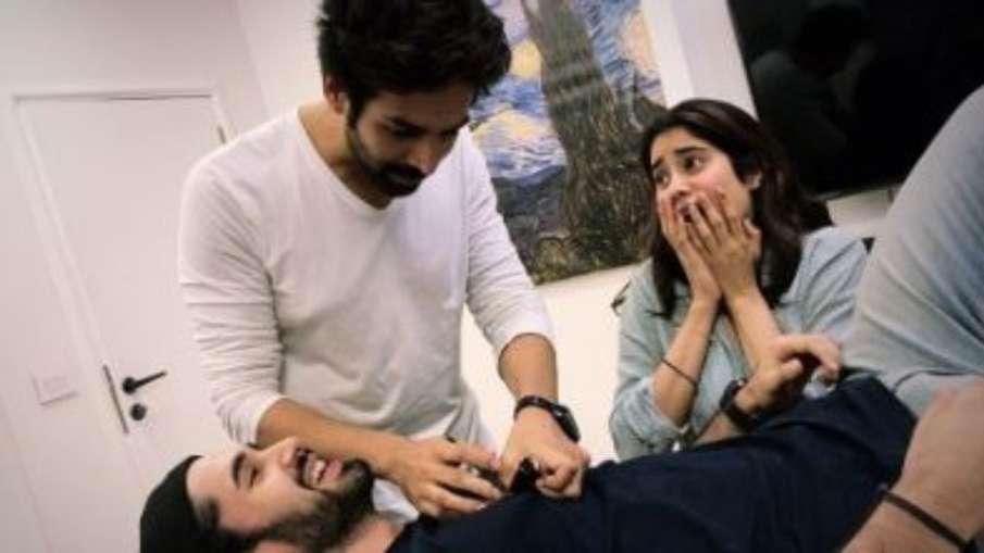 kartik aaryan janhvi kapoor and lakshya start preparing for Dostana 2- India TV Hindi