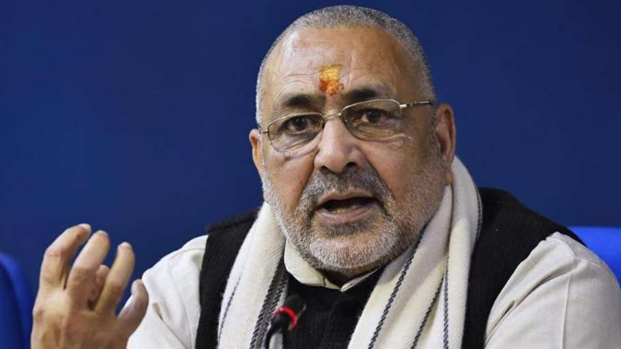 Next assembly election in Bihar will be fought under Nitish Kumar's leadership, says Giriraj Singh- India TV Hindi