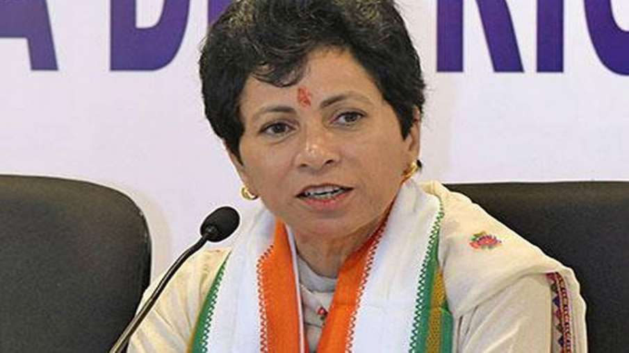 Haryana Congress chief Kumari Selja expels 16 rebels...- India TV Hindi
