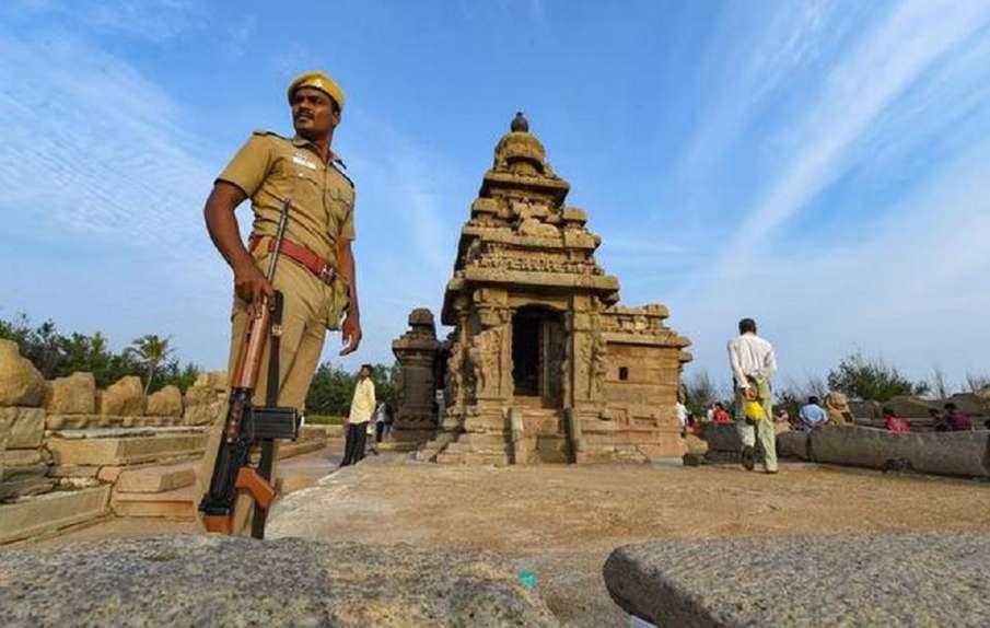 Tight security cover at Mallapuram ahead of Modi Jinping Meet- India TV Hindi