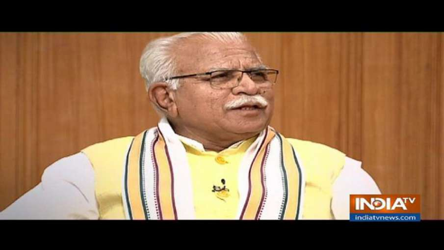 Manohar Lal Khattar in Aap Ki Adalat- India TV Hindi