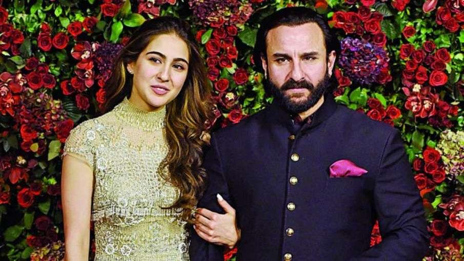 Sara ali khan and Saif ali khan- India TV Hindi