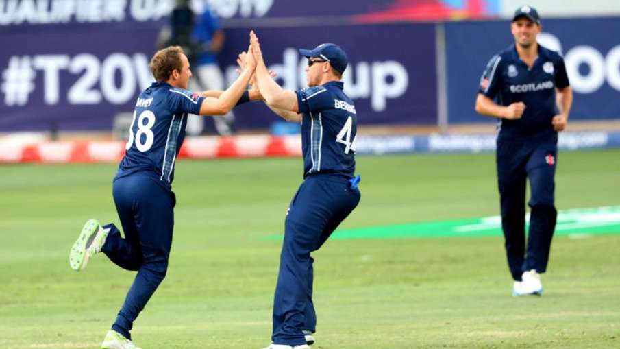 Scotland beat T20 World Cup ticket after beating UAE- India TV Hindi