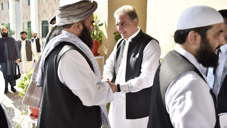 Taliban delegation meets Qureshi to push for revival of Afghan peace process | AP- India TV Hindi