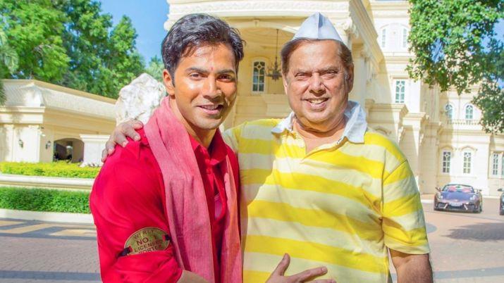 Varun dhawan shares scooter ride video with david dhawan- India TV Hindi