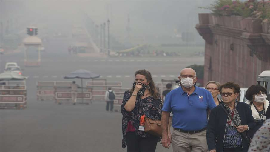 Air pollution Delhi- India TV Hindi