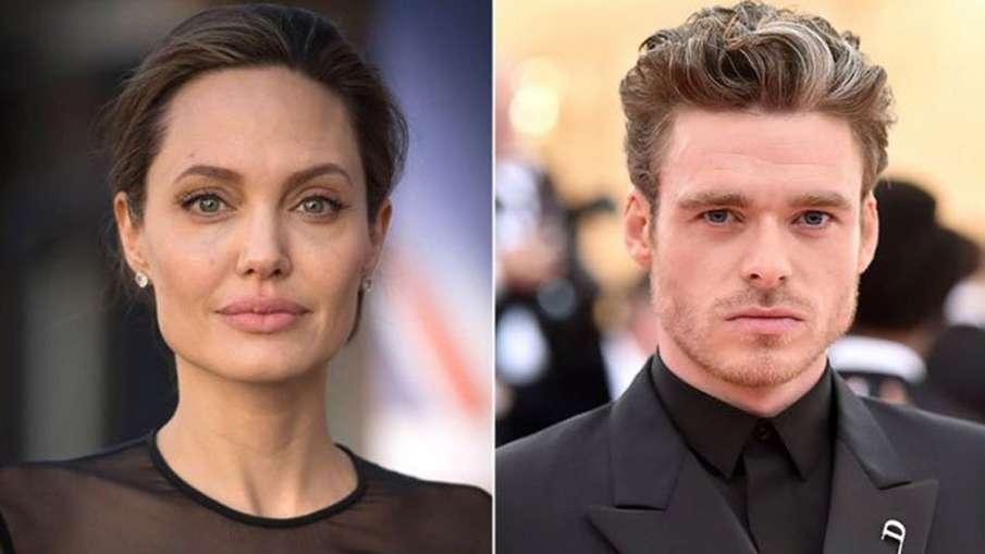 """Angelina Jolie, The Eternals, Richard Madden,- India TV Hindi"