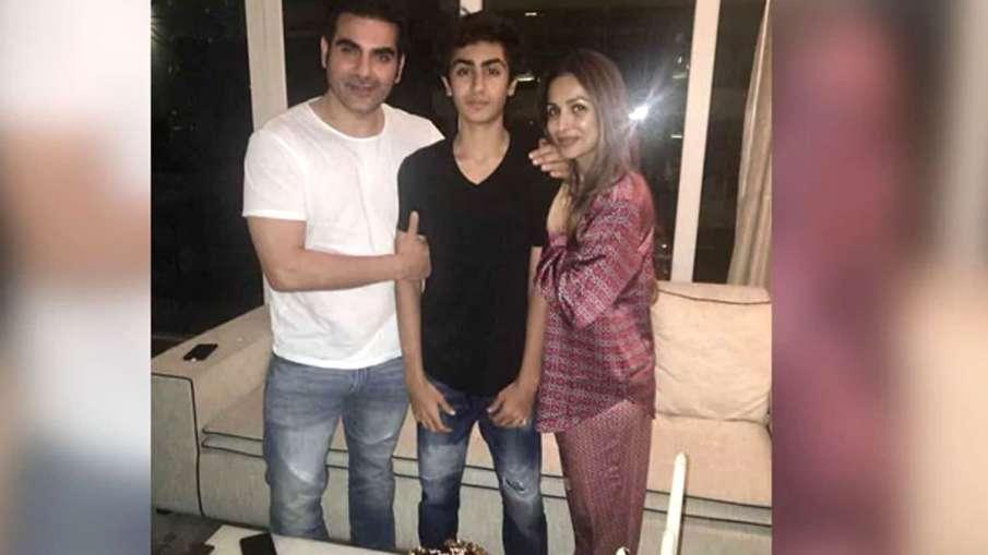 Arbaaz Khan and Malaika Arora with son- India TV Hindi