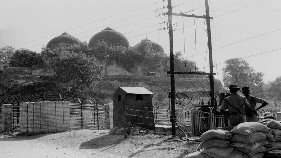 ayodhya ram mandir verdict faisla ( Nov. 1990 file photo, a view of Babri Masjid)- India TV Hindi