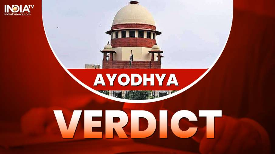 Ayodhya Verdict- India TV Hindi