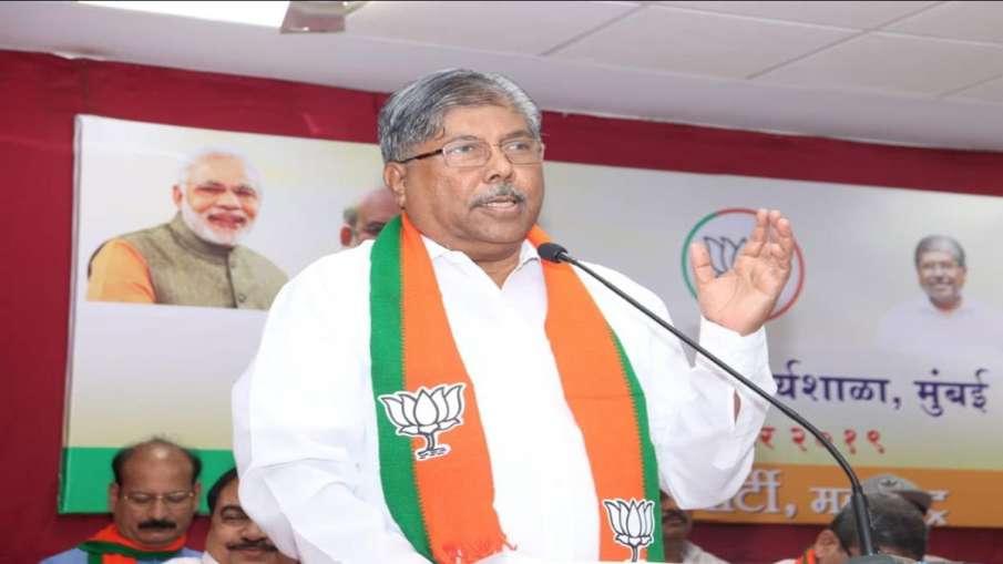 With 119 MLAs we will form BJP government in Maharashtra says Chandrakant Patil- India TV Hindi